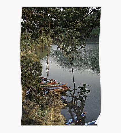 Pokhara lake Poster