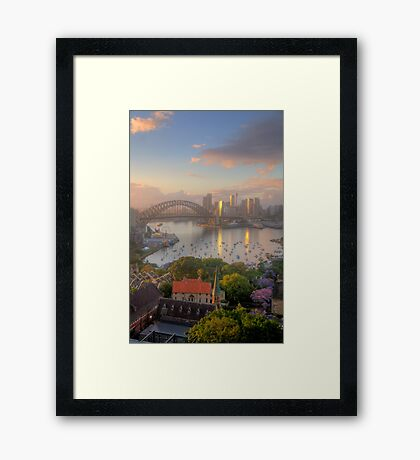 Spirit - Moods Of A City - The HDR Experience Framed Print
