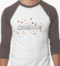 More Dots! Men's Baseball ¾ T-Shirt