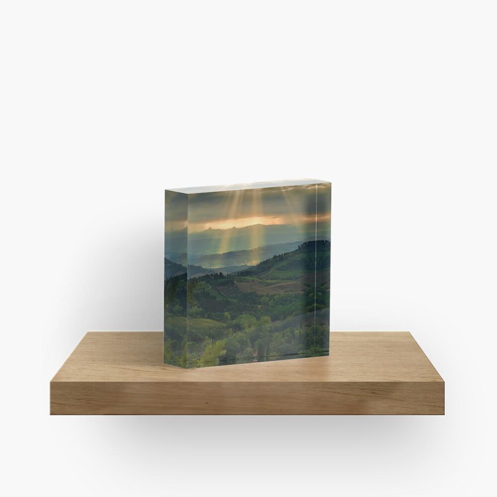 Rays from Heaven Acrylic Block