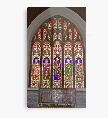 Window #2 East Witton Church Metal Print