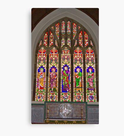 Window #2 East Witton Church Canvas Print