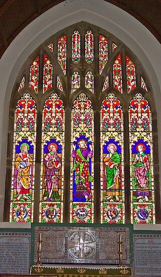 Window #2 East Witton Church by Trevor Kersley