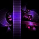 Purple bands by Patriciakb