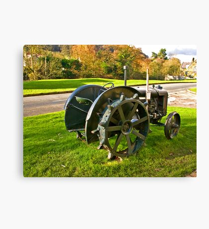 Old Fordson Tractor Canvas Print