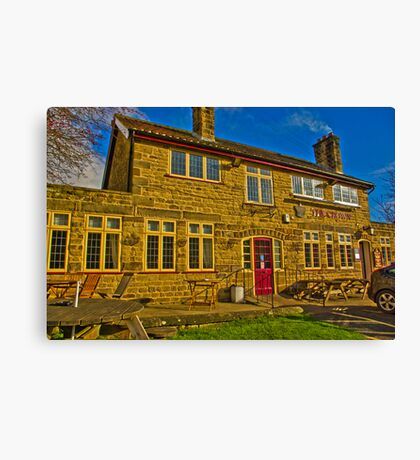 The Crown Inn - Hutton le Hole Canvas Print