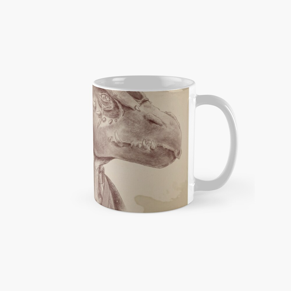 Dragonborn Fighter Classic Mug