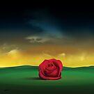 Rosa no Chão. by Marcel Caram