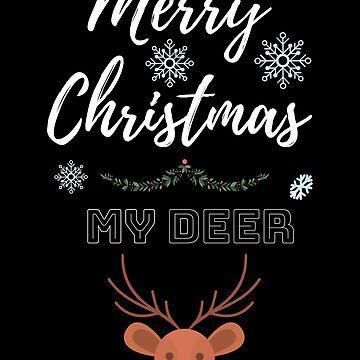 Merry Christmas my deer by chardo55