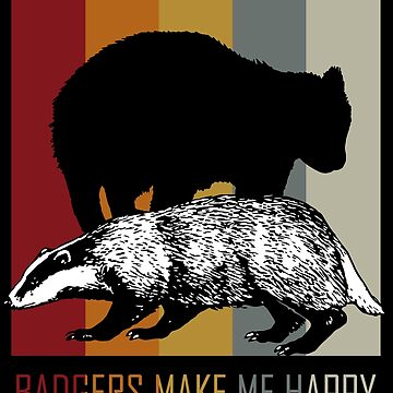 Badger Animal lover by GeschenkIdee