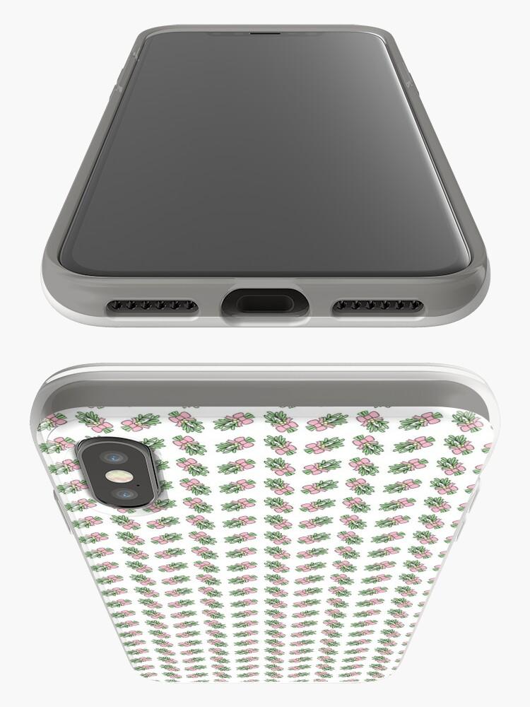 Alternate view of Pastel Mistletoe iPhone Case & Cover