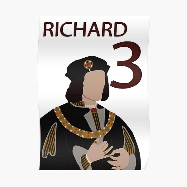 Richard III Art Print /'Hope/' The Third 3rd Photo Poster Gift