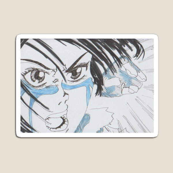 Battle Angel Alita Magnet