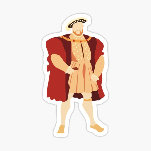 Henry VIII Sticker