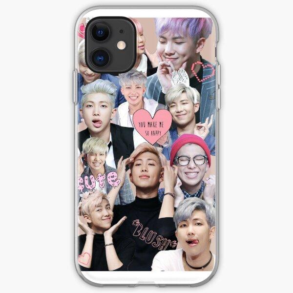 Pastel Namjoon Collage  iPhone Soft Case