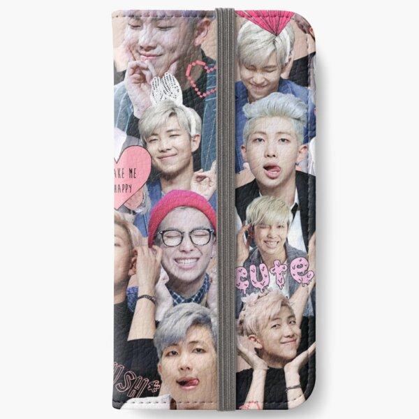 Pastel Namjoon Collage  iPhone Wallet