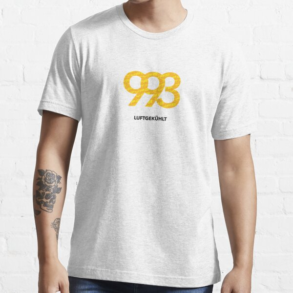 Luftgekühlt - PORSCHE type 993 Essential T-Shirt
