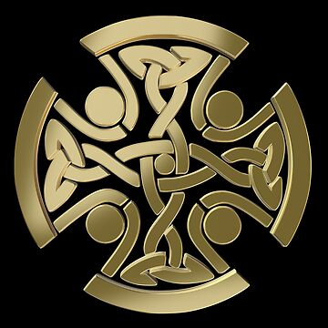 Celtic golden knot by igorsin