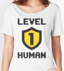 Level 1 Human Women's Relaxed Fit T-Shirt