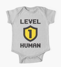 Level 1 Human One Piece - Short Sleeve