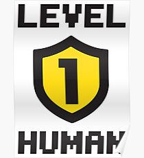 Level 1 Human Poster