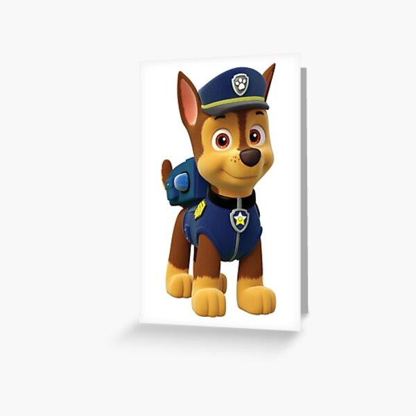 Paw Patrol Chase Greeting Card