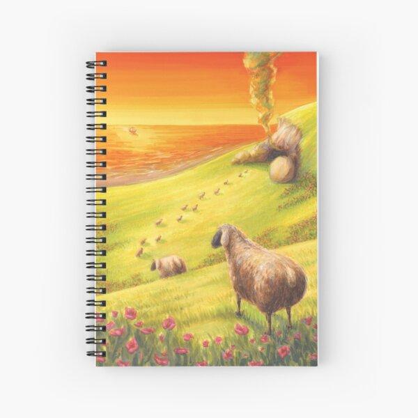 The Odyssey Spiral Notebook