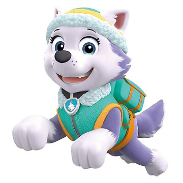 Paw Patrol Everest Jumping by docubazar7