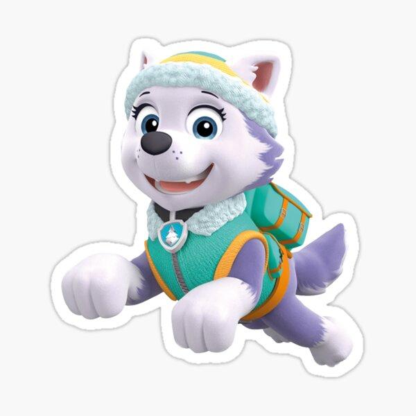 Paw Patrol Everest Jumping Sticker