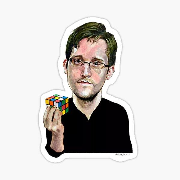 Edward Snowden sticker Sticker