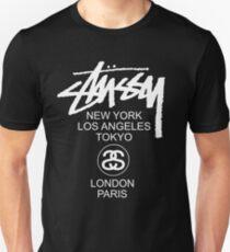 STUSSY LONDON PARIS EXCLUSIVE Unisex T-Shirt