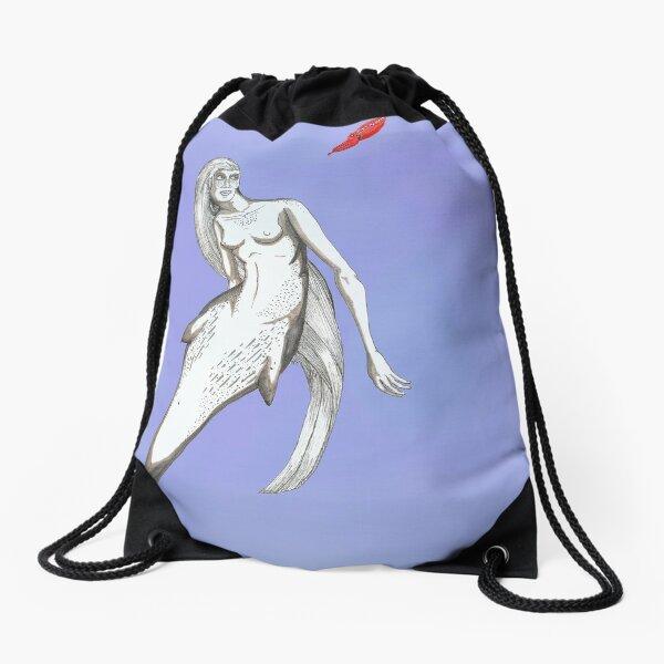 Gervais Mermaid Drawstring Bag