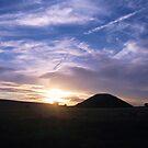 Silbury Sunset - Silbury Hill, Wiltshire #1 by J J  Everson