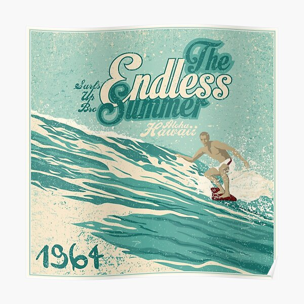 The endless summer 1964  Poster