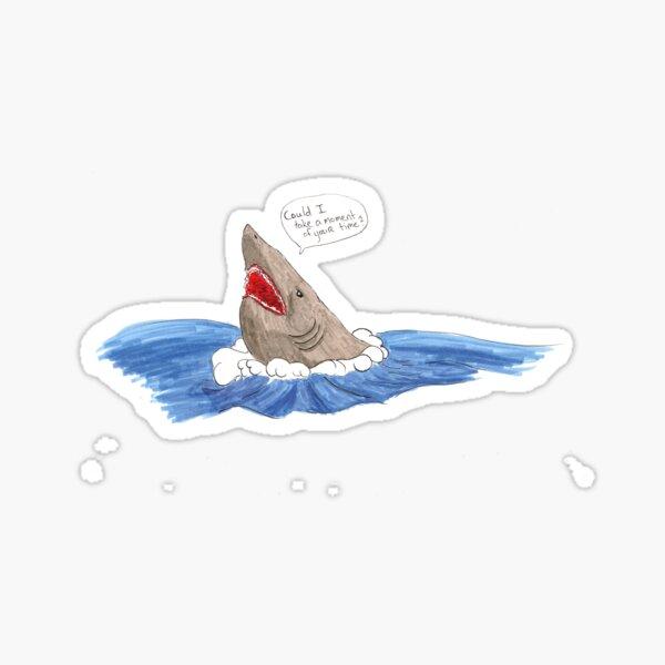 Shark Missionary Sticker