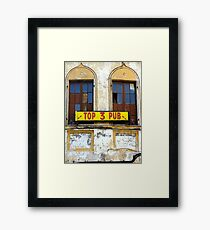 Top 3 Pub Framed Print