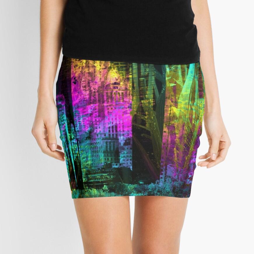 Neon City Mini Skirt
