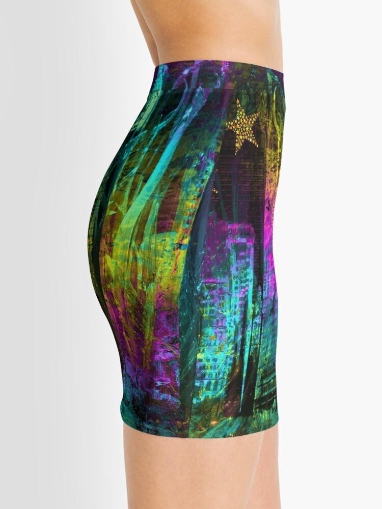 Alternate view of Neon City Mini Skirt