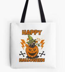 Happy Halloween Pug Tasche