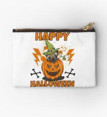 Happy Halloween Pug Studio Clutch