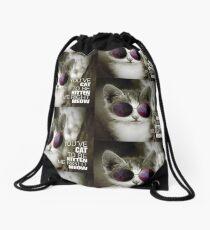 Funny Cat Drawstring Bag