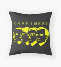 Kraftwerk Shirt Throw Pillow