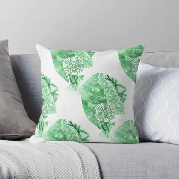 Carrickalinga Sands Green Throw Pillow