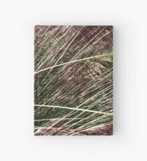 Purple Grasses Majesty Hardcover Journal