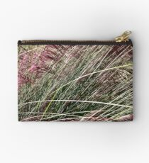 Purple Grasses Majesty Zipper Pouch