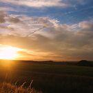Silbury Sunset - Silbury Hill, Wiltshire #2 by J J  Everson