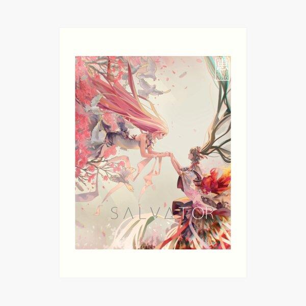 Vocaloid SALVATOR Art Print