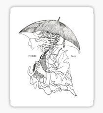 forever rain - mono  Sticker