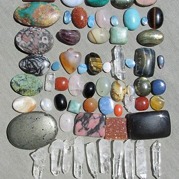70 Rocks! by ingridthecrafty