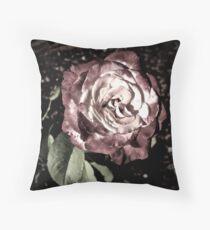 Winter Park October Rose Throw Pillow